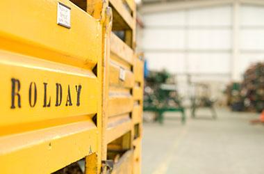 Rolday, soluciones integrales para la industria y construcción.